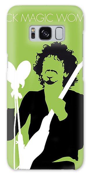 Magician Galaxy S8 Case - No046 My Santana Minimal Music Poster by Chungkong Art