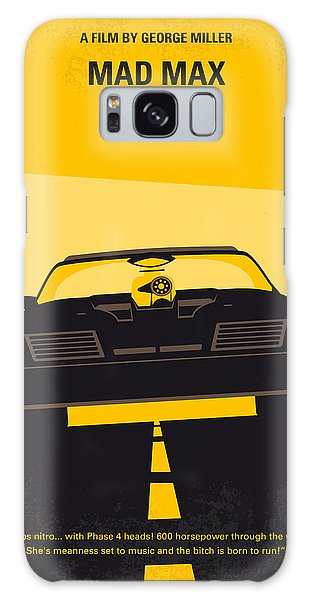 No051 My Mad Max Minimal Movie Poster Galaxy Case