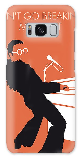 No053 My Elton John Minimal Music Poster Galaxy Case