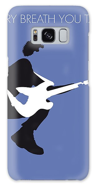 No058 My The Police Minimal Music Poster Galaxy Case by Chungkong Art