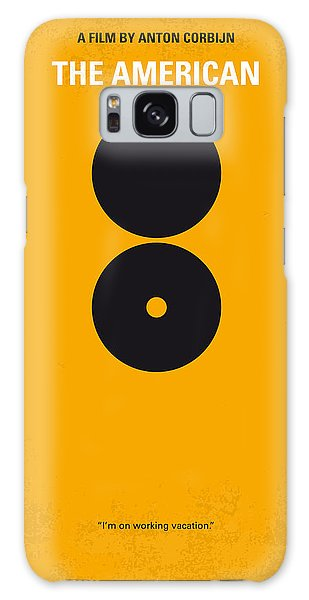 Weapons Galaxy Case - No088 My The American Minimal Movie Poster by Chungkong Art