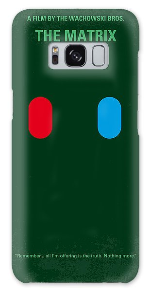 No117 My Matrix Minimal Movie Poster Galaxy Case