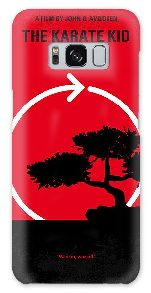 No125 My Karate Kid Minimal Movie Poster Galaxy Case