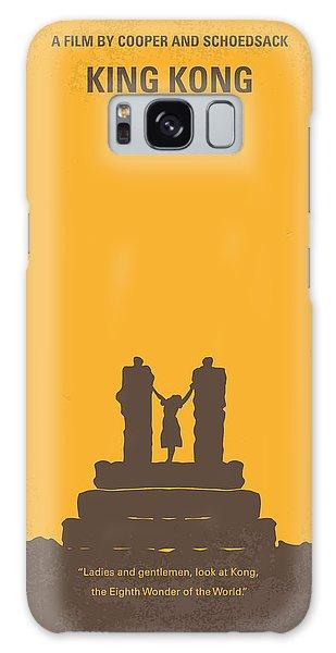 No133 My King Kong Minimal Movie Poster Galaxy Case