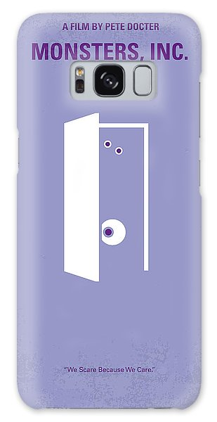 No161 My Monster Inc Minimal Movie Poster Galaxy Case