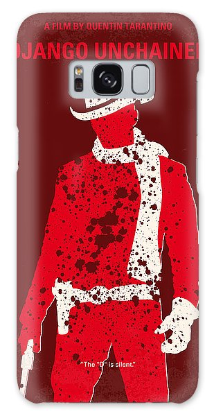 No184 My Django Unchained Minimal Movie Poster Galaxy Case