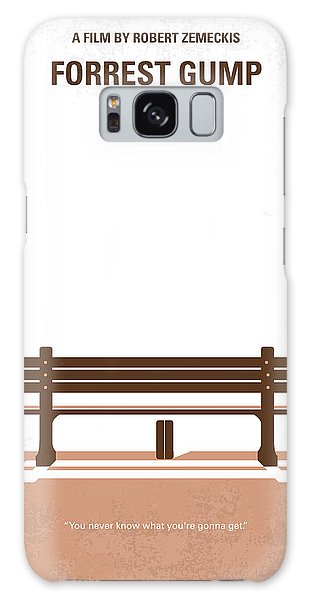 No193 My Forrest Gump Minimal Movie Poster Galaxy Case by Chungkong Art