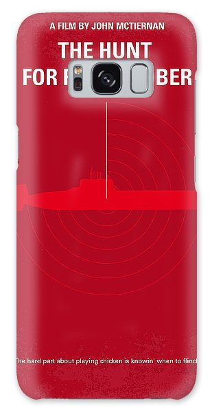 Red Galaxy Case - No198 My The Hunt For Red October Minimal Movie Poster by Chungkong Art