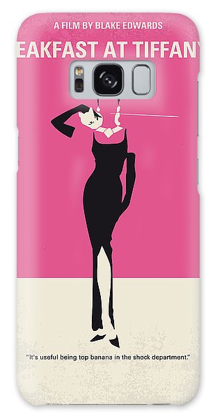 Actors Galaxy S8 Case - No204 My Breakfast At Tiffanys Minimal Movie Poster by Chungkong Art