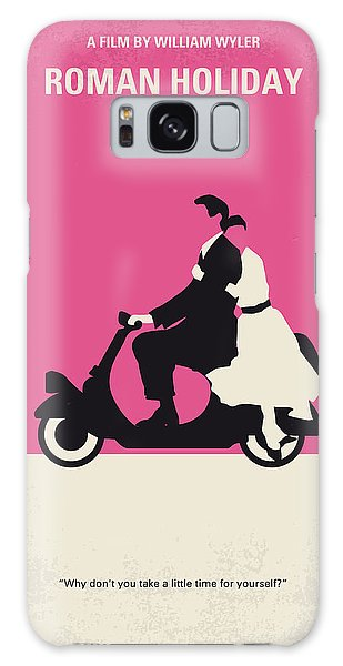 No205 My Roman Holiday Minimal Movie Poster Galaxy Case