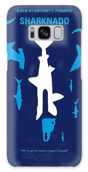 No216 My Sharknado Minimal Movie Poster Galaxy Case