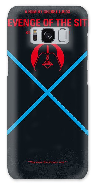Logo Galaxy Case - No225 My Star Wars Episode IIi Revenge Of The Sith Minimal Movie Poster by Chungkong Art