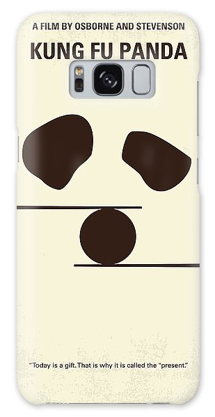 Dragon Galaxy S8 Case - No227 My Kung Fu Panda Minimal Movie Poster by Chungkong Art