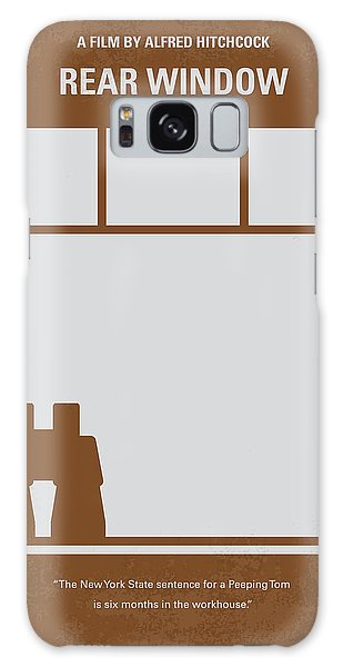 No238 My Rear Window Minimal Movie Poster Galaxy S8 Case