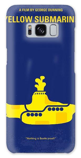 Musicians Galaxy Case - No257 My Yellow Submarine Minimal Movie Poster by Chungkong Art