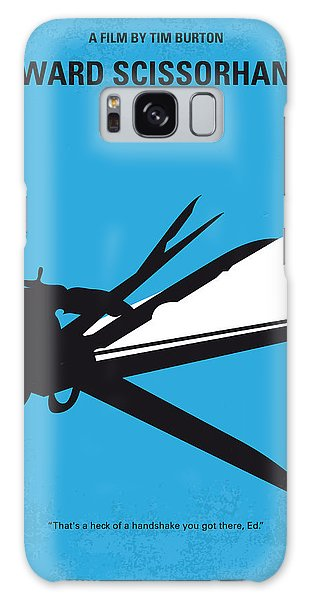 No260 My Scissorhands Minimal Movie Poster Galaxy S8 Case