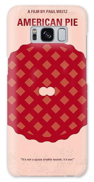 No262 My American Pie Minimal Movie Poster Galaxy Case