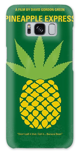 No264 My Pineapple Express Minimal Movie Poster Galaxy Case
