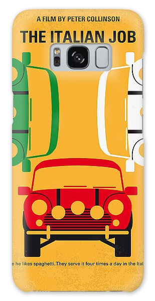 No279 My The Italian Job Minimal Movie Poster Galaxy Case by Chungkong Art
