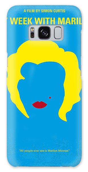 Actors Galaxy S8 Case - No284 My Week With Marilyn Minimal Movie Poster by Chungkong Art