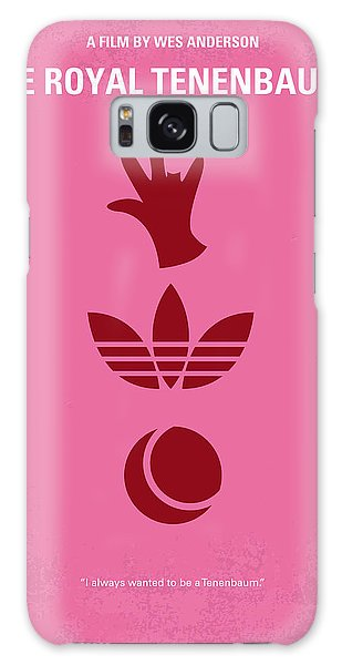 Tennis Galaxy S8 Case - No320 My The Royal Tenenbaums Minimal Movie Poster by Chungkong Art