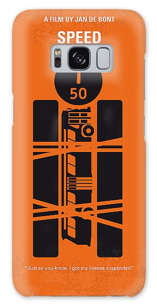 Speed Galaxy Case - No330 My Speed Minimal Movie Poster by Chungkong Art