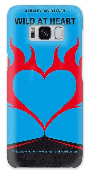 Heart Galaxy Case - No337 My Wild At Heart Minimal Movie Poster by Chungkong Art