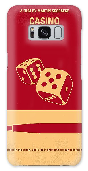 No348 My Casino Minimal Movie Poster Galaxy Case