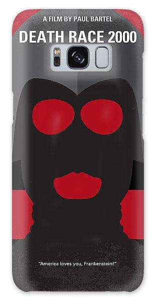Automobile Galaxy Case - No367 My Death Race 2000 Minimal Movie Poster by Chungkong Art