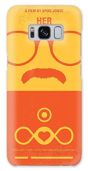 No372 My Her Minimal Movie Poster Galaxy Case