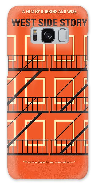 No387 My West Side Story Minimal Movie Poster Galaxy Case