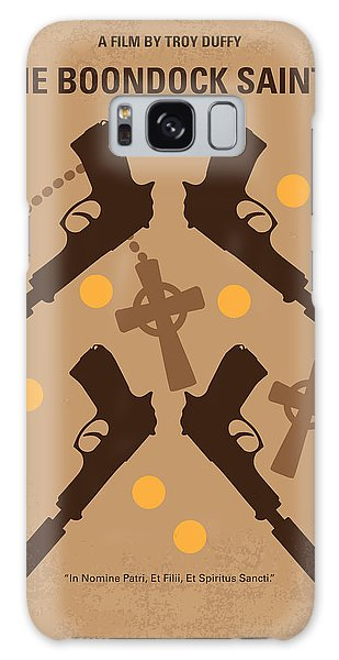 No419 My Boondock Saints Minimal Movie Poster Galaxy Case