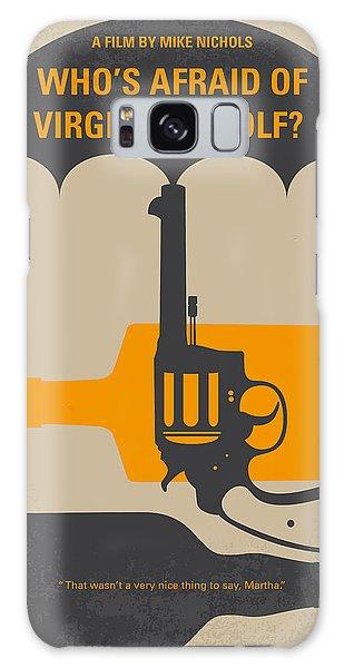 No426 My Whos Afraid Of Virginia Woolf Minimal Movie Poster Galaxy S8 Case