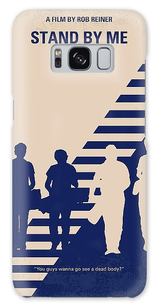 No429 My Stand By Me Minimal Movie Poster Galaxy Case