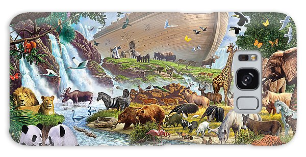 Noahs Ark - The Homecoming Galaxy Case by Steve Crisp