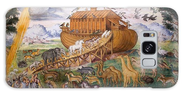 Noah's Ark - Two By Two Galaxy Case by David Grant