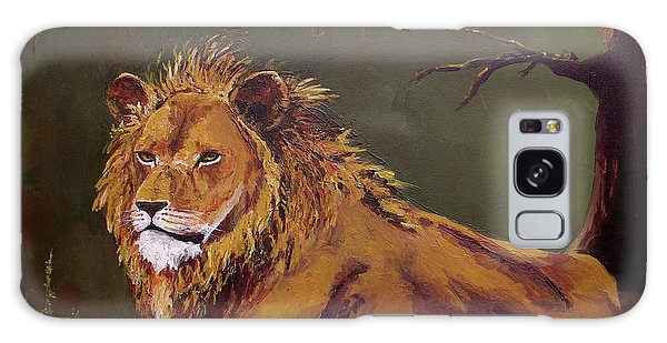 Noble Guardian - Lion Galaxy Case