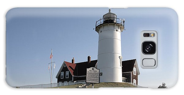 Nobska Lighthouse On Cape Cod At Woods Hole Massachusetts Galaxy Case