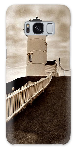 Nobska Lighthouse Galaxy Case