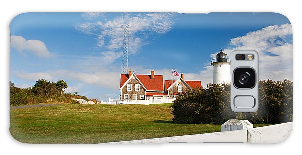 Nobska Point Lighthouse Galaxy Case