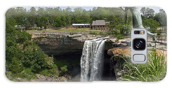 Noccalula Falls In Gadsden Galaxy Case by Carol M Highsmith