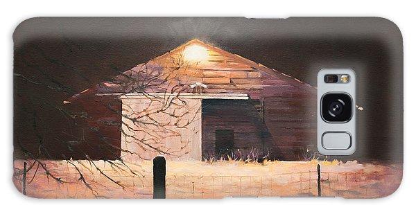 Nocturnal Barn Galaxy Case by Rebecca Matthews