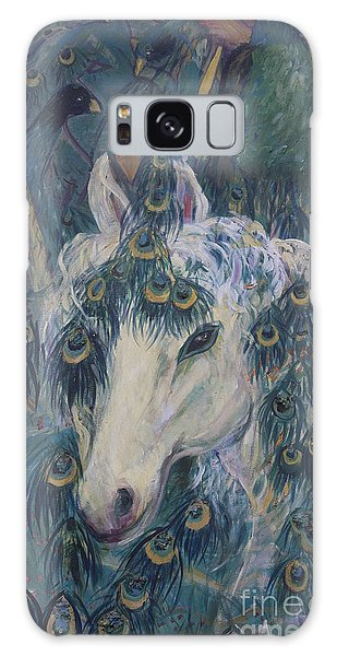 Nola's Unicorn Galaxy Case by Avonelle Kelsey