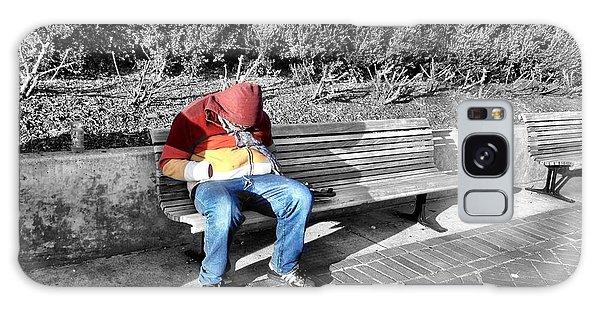 Homeless Man Galaxy Case