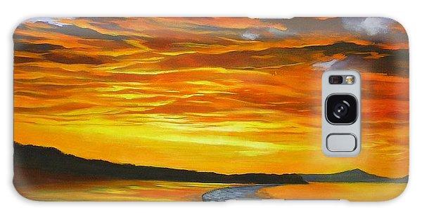 Noosa Sunset Galaxy Case