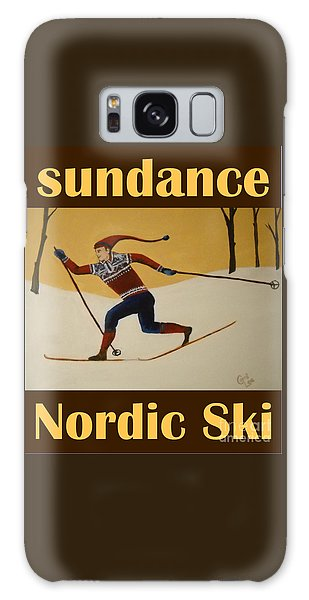 Nord Ski Poster Galaxy Case