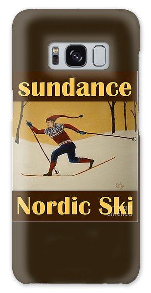 Nord Ski Poster Galaxy Case
