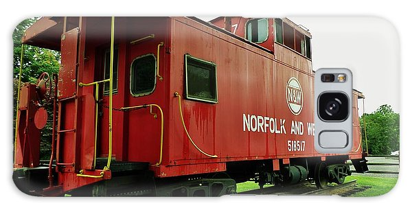 Norfolk And Western Galaxy Case by Christy Saunders Church