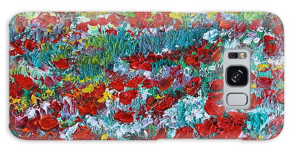 Normandy Poppy Field Dreams IIi Galaxy Case