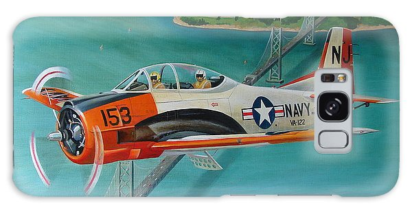 North American T-28 Trainer Galaxy Case by Stuart Swartz